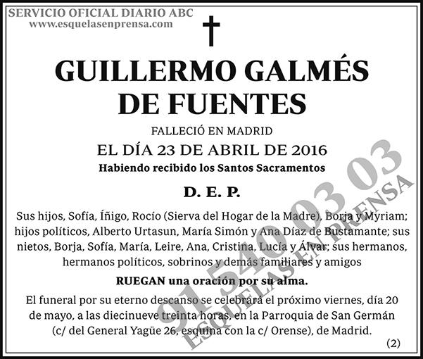 Guillermo Galmés de Fuentes